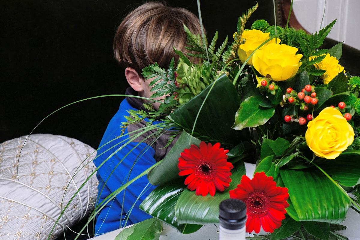 Charles Bedue L'enfant aux fleurs La marguerette