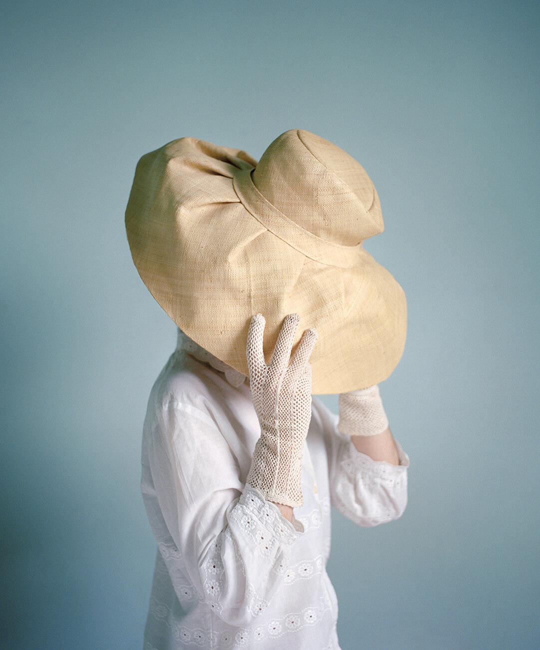 Marie Hudelot - Femme au Chapeau