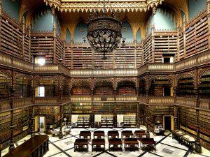 Real Gabinete Português de Leitura Library, Rio De Janeiro, Brazil