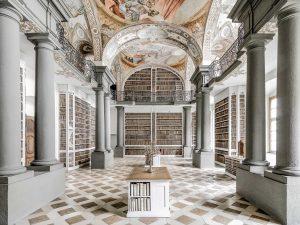 St Emmeram Library III, Regensburg, Germany, 2016