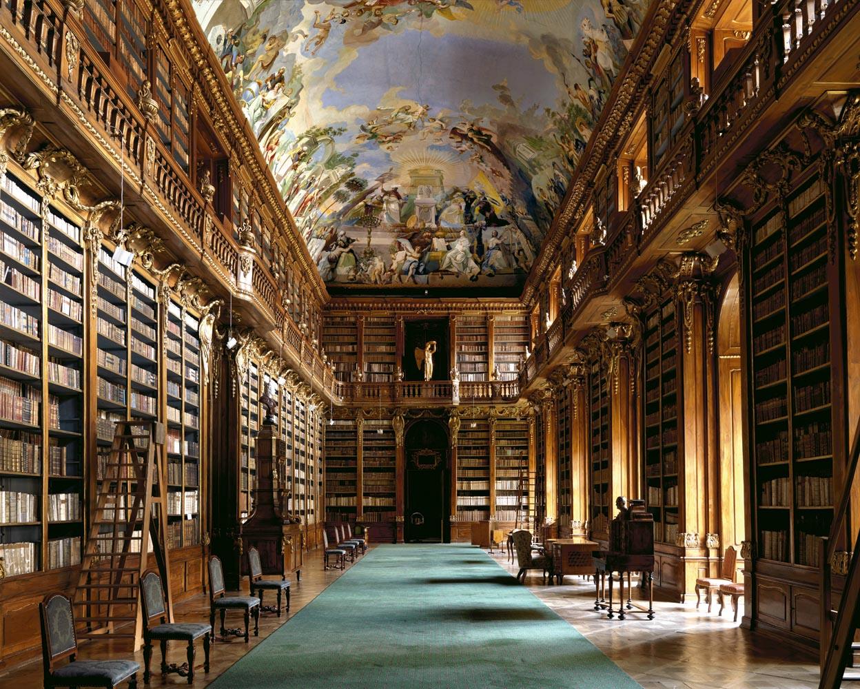 Strahov Library I, Prague, 2009