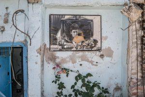 Untitled (Damaged wall of a home, Diyarbakir)