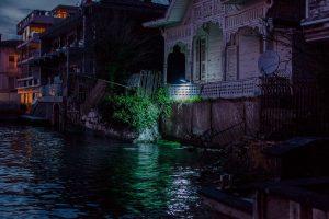 Untitled (A security camera illuminates the Bosphorus, Anatolian side of Istanbul, 2013)