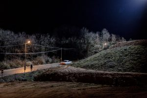 Untitled (A man walks to his car on a back road outside Istanbul, 2012)