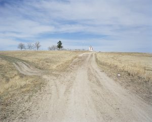 Road to Wounded Knee Cemetary