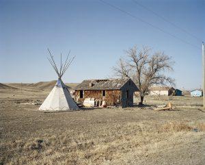 Tepee and House