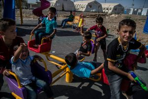 Untitled (Middle East Refugee Crisis #7)