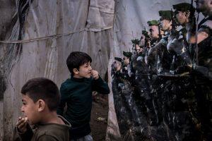 Untitled (Middle East Refugee Crisis #22)