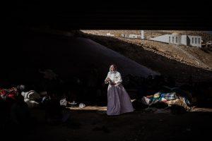 Untitled (Middle East Refugee Crisis #18)