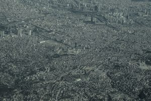 Untitled (Aerial view of Istanbul, former 'city of dreams')