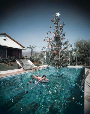 Christmas Swim_ Slim Aarons