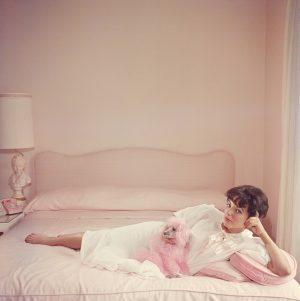joan Collins Relaxes - Slim Aarons