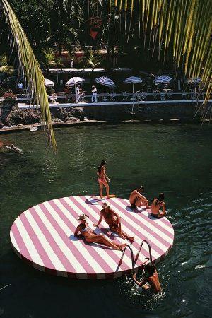 La concha beach club - Slim Aarons