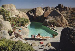 Sunbathing in arizona-Slim Aarons